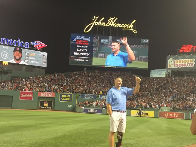 SoldierStrong Honored at Yankees/Red Sox Game at Fenway Park