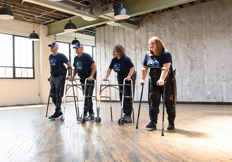 VA New Orleans Receives Spinal Cord Rehabilitation Exoskeleton From National Nonprofit SoldierStrong
