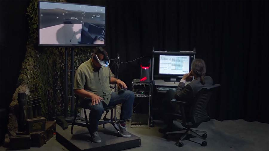 SoldierStrong and USC-ICT have partnered to help vets overcome PTS with Virtual Reality therapy